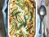 Lasagne di primavera con asparagi +