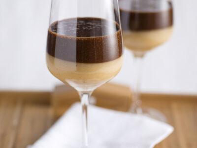 Mousse di pere speziata al Moscato con cioccolato