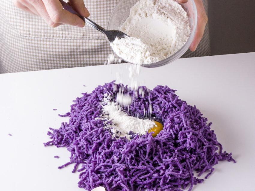 Gnocchi patate viola 4