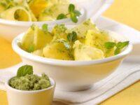 Dessert con ananas