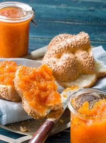 Marmellata di carote novelle di Ispica alla cannella