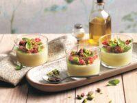 Panna cotta salata