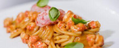 Spaghettoni con gamberi_