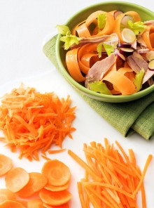 Insalata di carote e le sue varianti