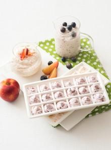 Mousse di frutta gelate