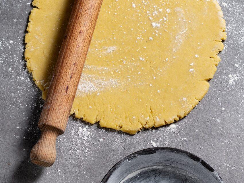 Torta con crema frangipane
