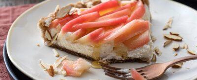 Cheese-cake-alle-mandorle-@salepepe